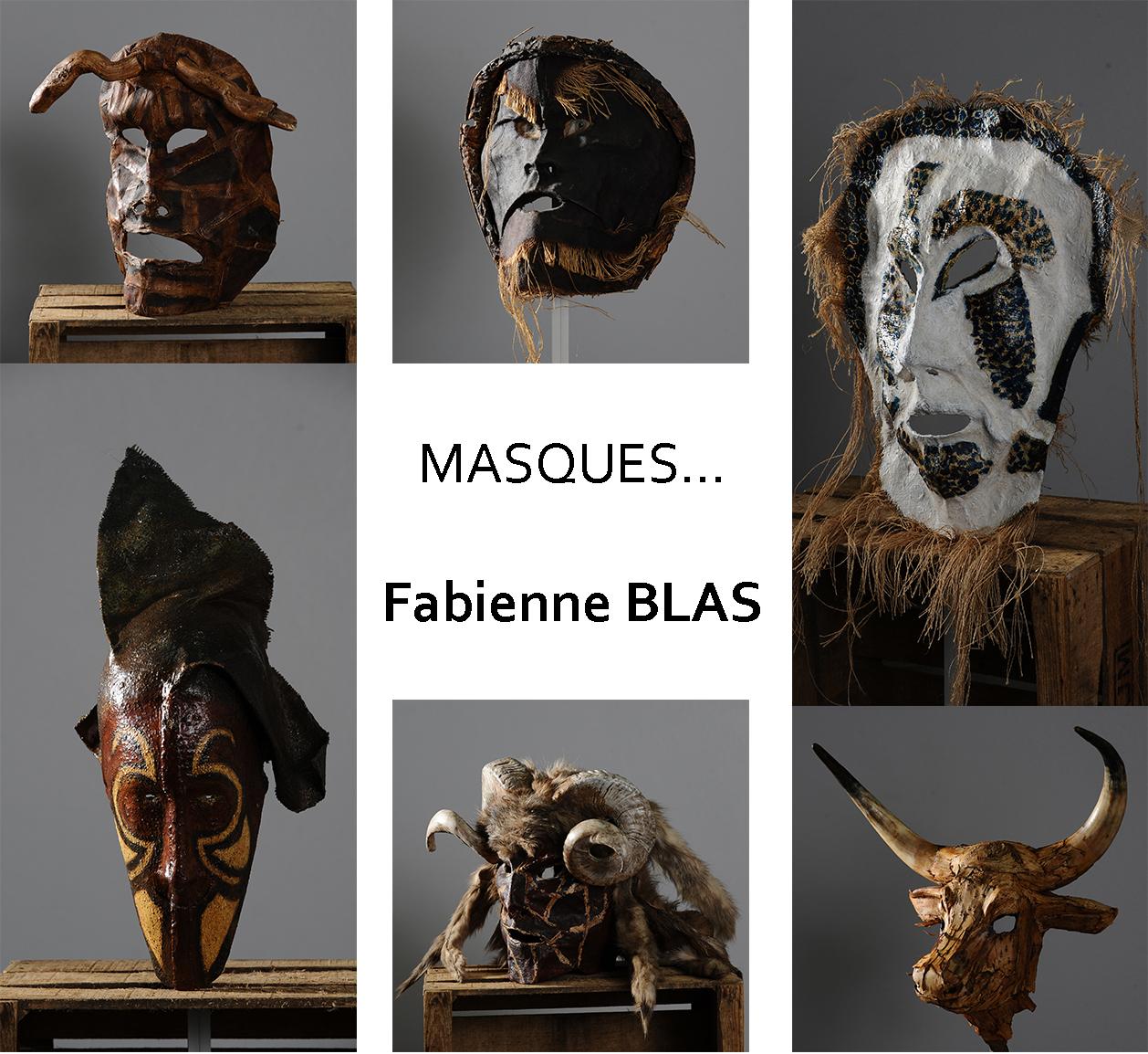 Masques... Fabienne Blas